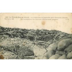 WW GUERRE 1914-18. Les Fortifications du Labyrinthe après occupation française