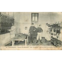 WW 03 MONTLUCON. Caserne Richemont. Salle d'astiquage pour un Dortoir 1916