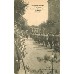 WW 43 LANGEAC. Guerre 1914-18 Défilé des Poilus en souvenir de la Fête de la Victoire 1927