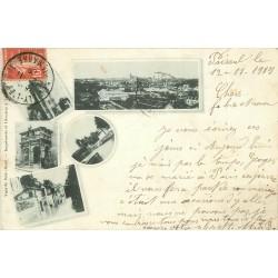 WW 39 DOLE. Multivues 1909 écrite de Paiseul