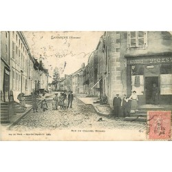 WW 88 LAMARCHE. Commerce Picard rue du Colonel Renard 1906