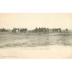 WW MILITAIRES. Artillerie au Camp d'Auvours départ des Batteries vers 1900