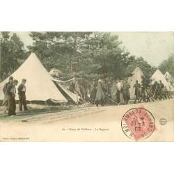 WW MILITAIRES. Le Rapport au Camp de Châlons 1906
