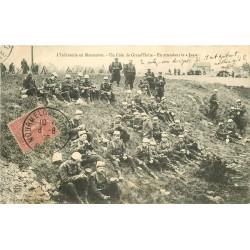 WW MILITAIRES. Infanterie en Manoeuvre en attendant le jus Grand'Halte 1906