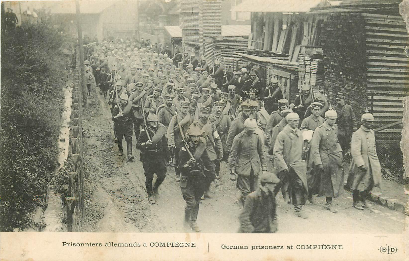 60 BEAUVAIS. Prisonniers Allemands Guerre 1914-18