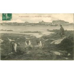 44 PORNICHET. La Pêche aux Coquillages 1910 métiers de la Mer
