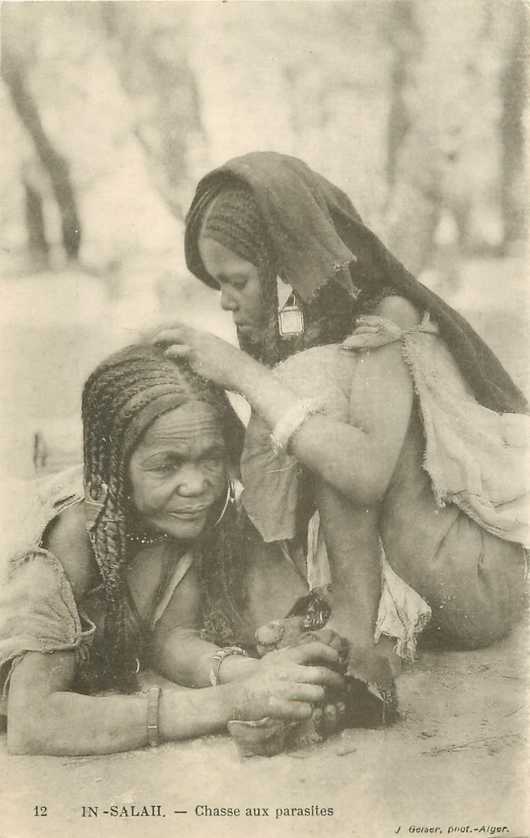WW ALGERIE. In-Salah Chasse aux parasites et poux