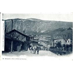 WW 01 BELLEGARDE. Gare et Hôtel des Touristes vers 1900