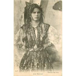 WW TUNISIE. Belle et jeune Mauresque 1905
