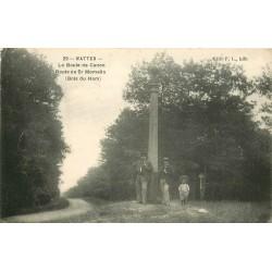 WW 59 WATTEN. La Boule de Canon route de Saint-Momelin au Bois du Ham 1914