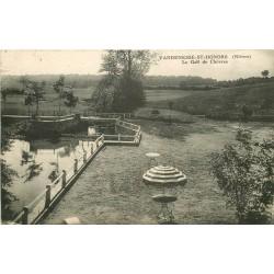 WW 58 VANDENESSE-SAINT-HONORE. Le Golf des Chèvres 1934