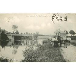 WW 02 SOISSONS. Chevaux de halage ou labours près du Pont de Pasly 1912