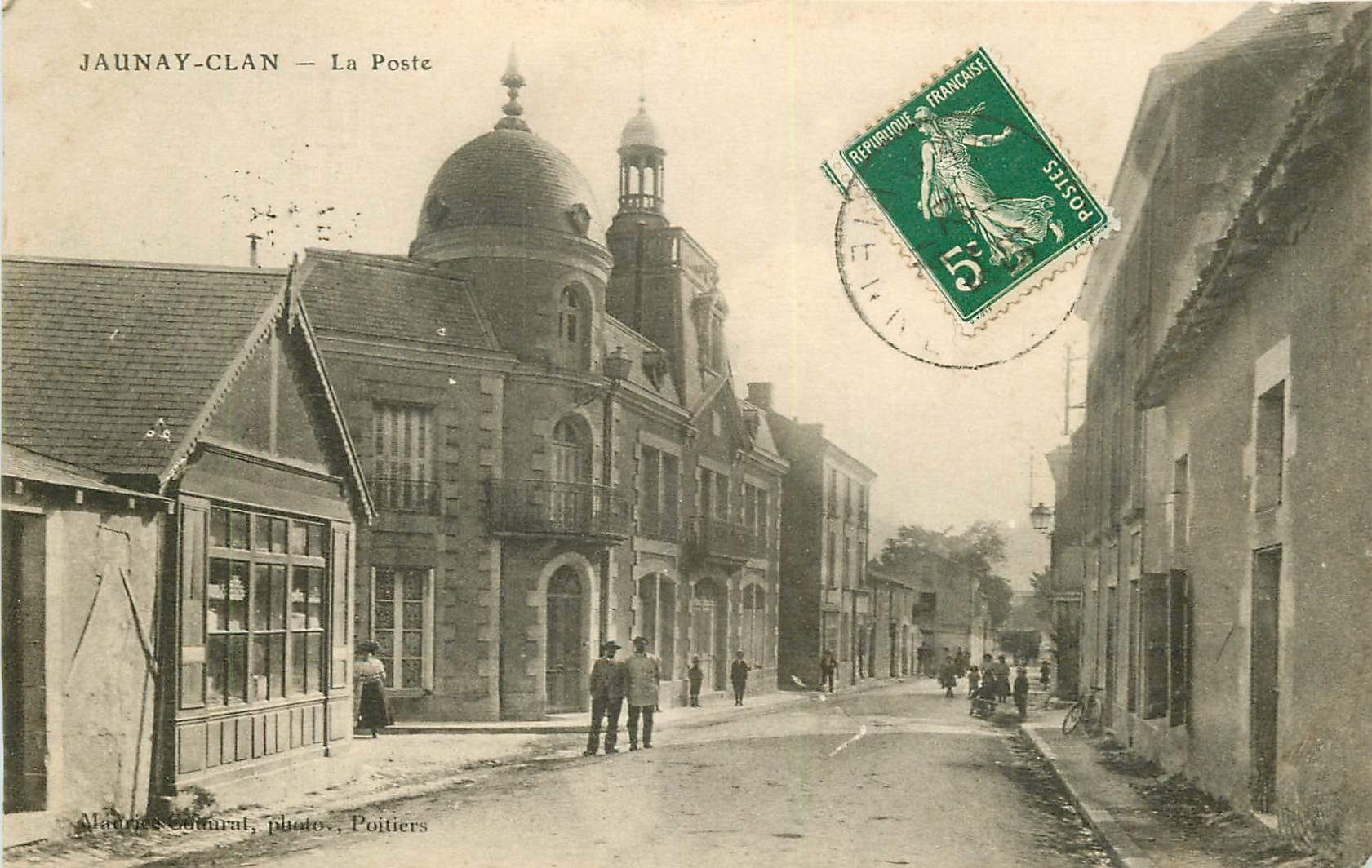 WW 86 JAUNAY-CLAN. La Poste 1912