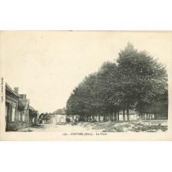 60 COIVREL. La Place vers 1920