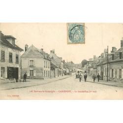 60 CARLEPONT. Cordonnerie Française sur Grande Rue 1907