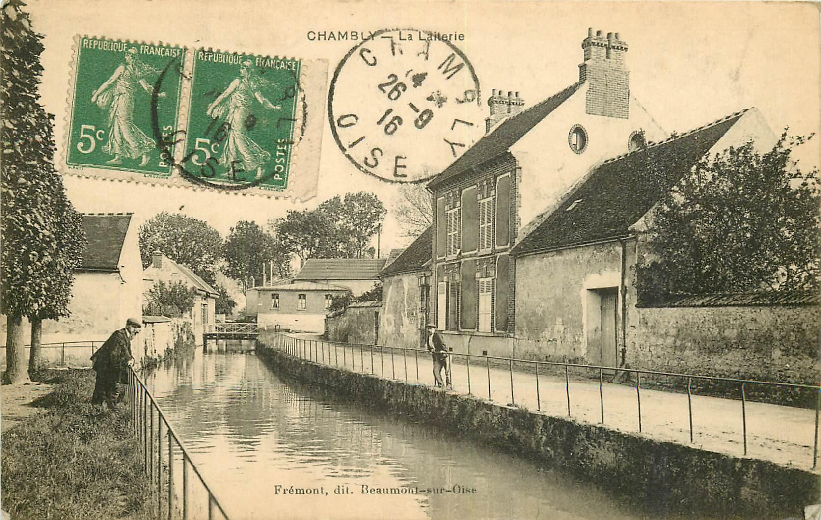 60 CHAMBLY. La Laiterie 1916