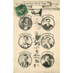 WW AMOUR. Choisissez votre Fiancé à la couleur de ses cheveux ?... 1913
