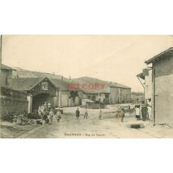 WW 51 BAGNEUX. Animation rue du Lavoir 1918