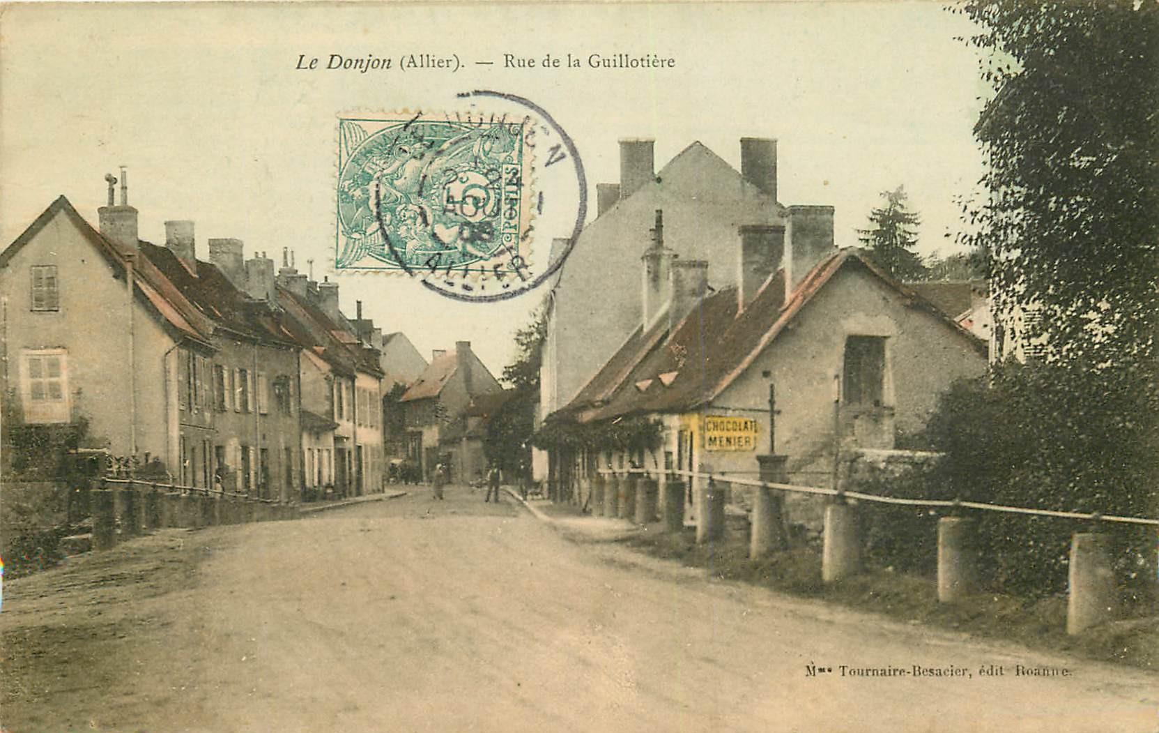 WW 03 LE DONJON. Auberge rue de la Guillotière 1906