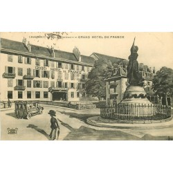 WW 73 CHAMBERY. Grand Hôtel de France Place du Centenaire 1917