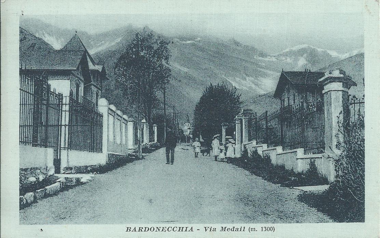 WW BARDONECCHIA. Via Medail 1915