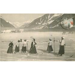 WW 74 SAINT-AGREVE. Une Partie de Skis entre Femmes 1913