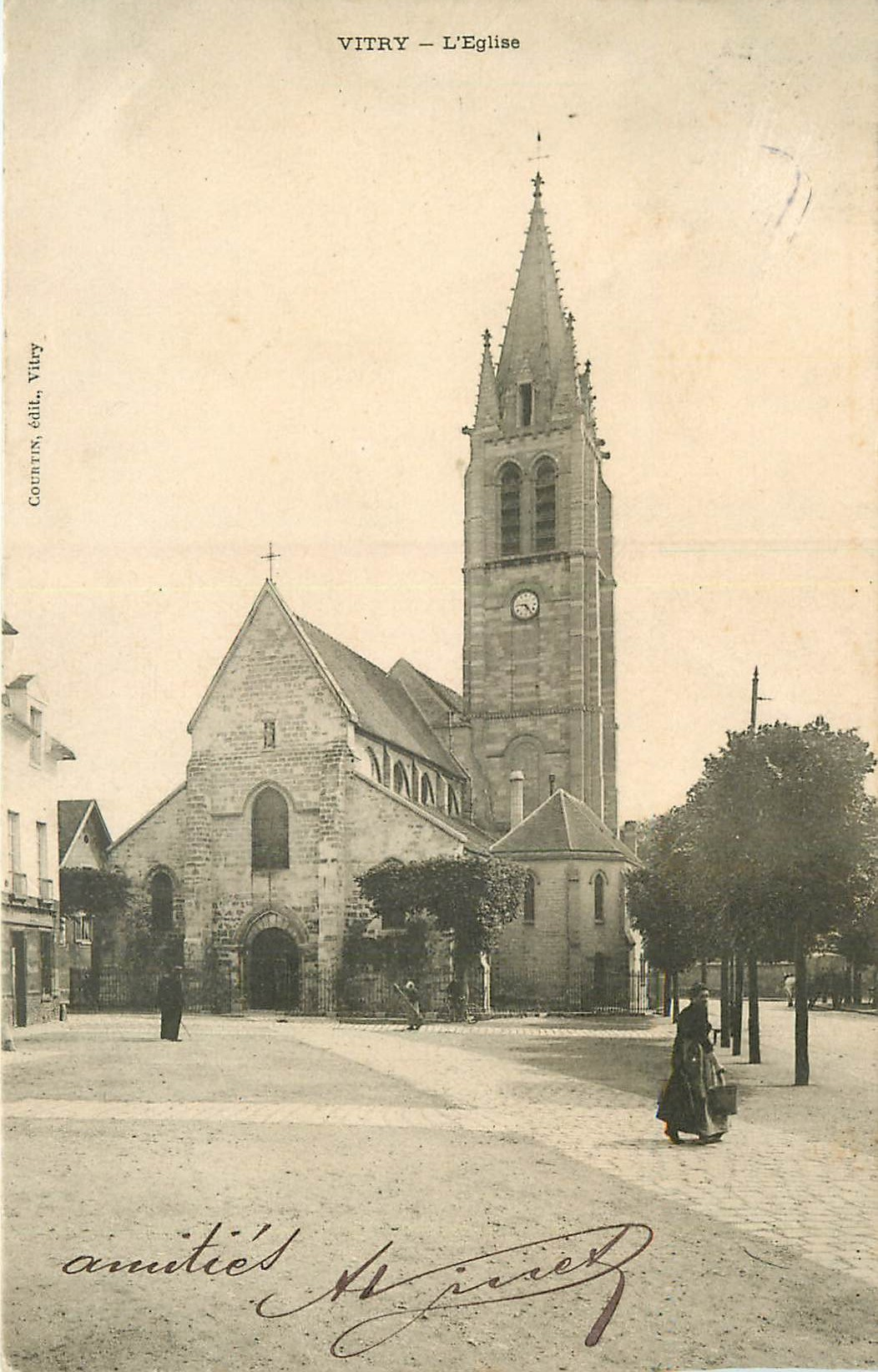 WW 94 VITRY-SUR-SEINE. L'Eglise 1904
