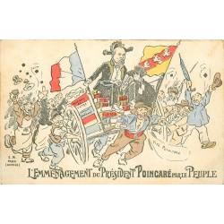 WW HUMOUR SATIRIQUE. L'Emménagement du Président Poincaré par le Peuple