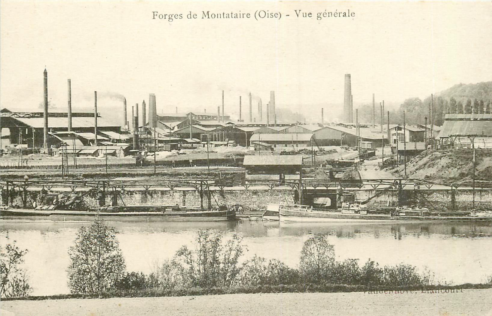 60 MONTATAIRE. Les Forges et les Péniches