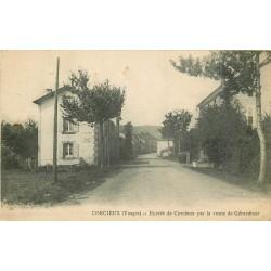 WW 88 CORCIEUX. Entrée Route de Gérardmer ou Plafond 1918