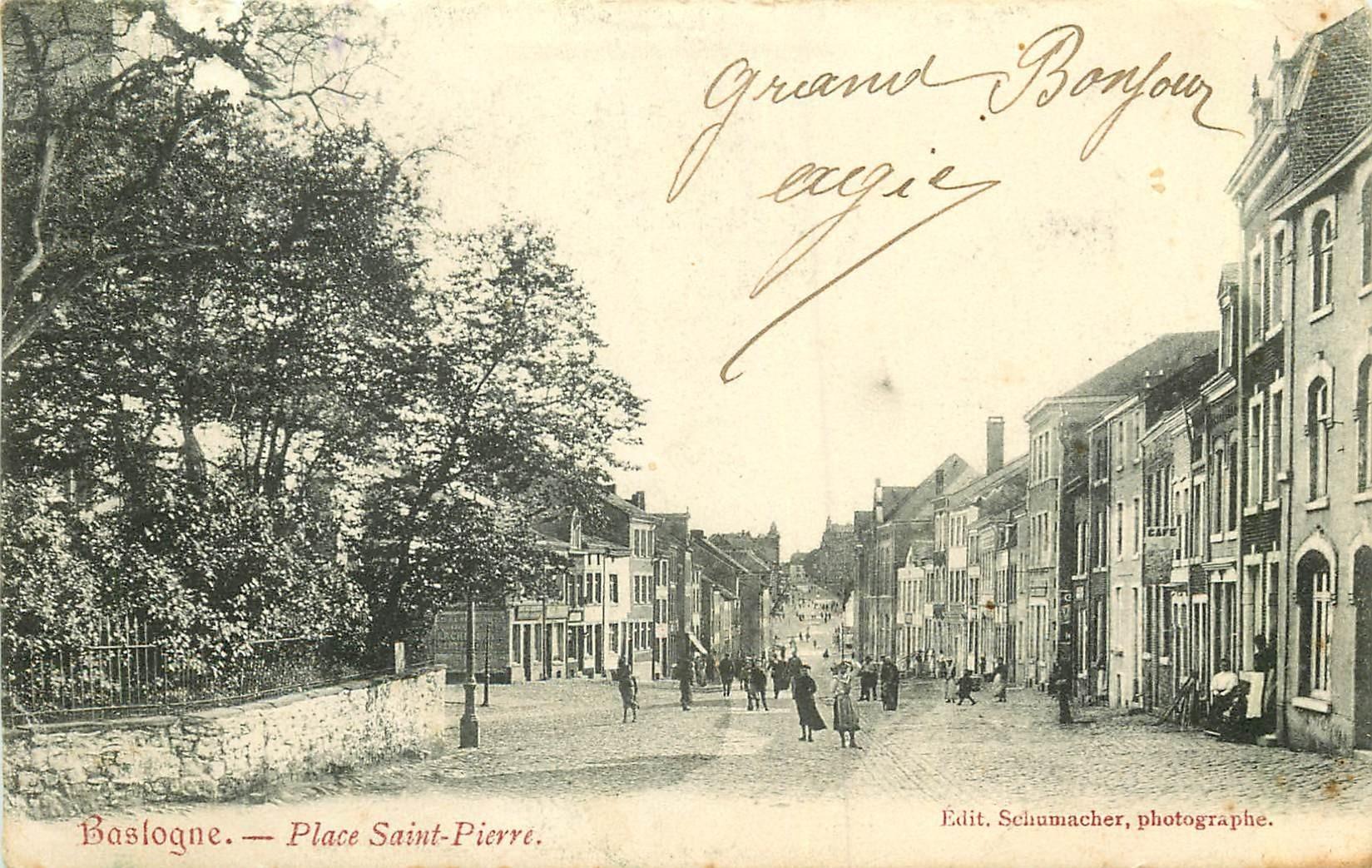 WW BASTOGNE. Place Saint-Pierre au Luxembourg