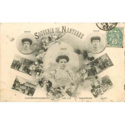 WW 92 NANTERRE. Couronnement de la Rosière de 1907
