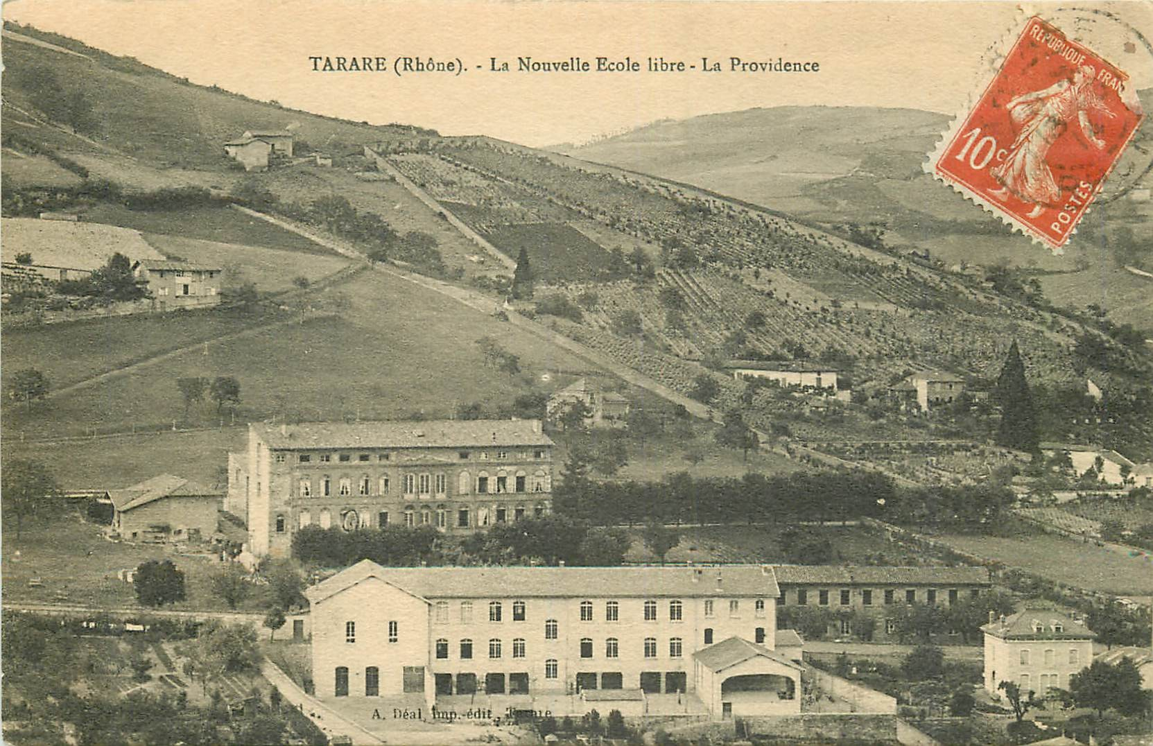 WW 69 TARARE. La Providence nouvelle Ecole libre 1914
