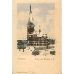 WW PLAUEN. Gruss aus Pauluskirche vers 1900