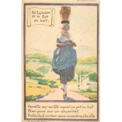 WW Publicité Ricqlès par Maggie Salzedo. La Laitière