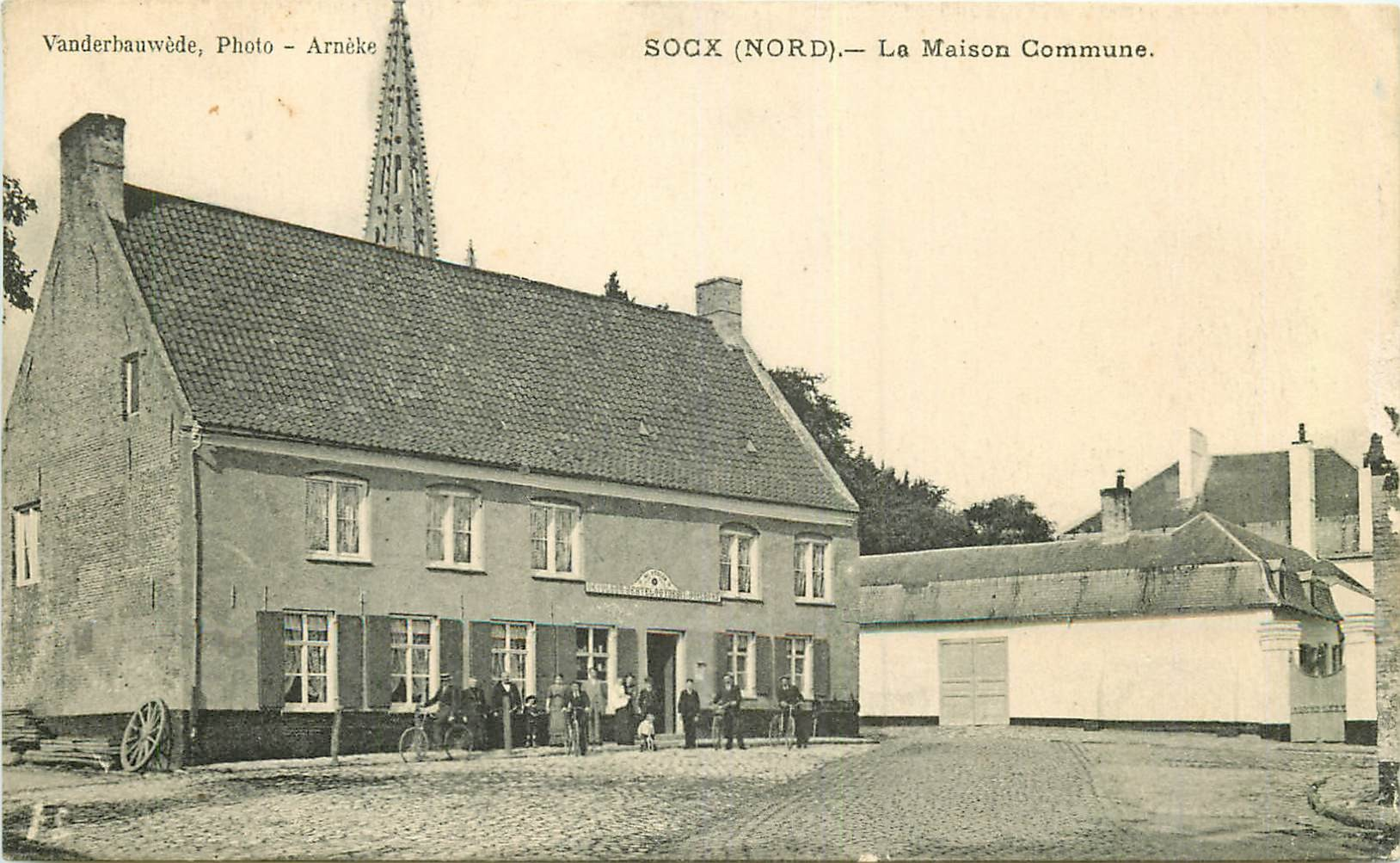 WW 59 SOCX. La Maison Commune 1917