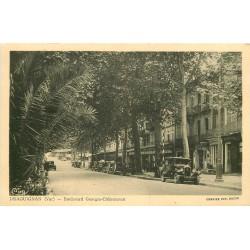 WW 83 DRAGUIGNAN. Voitures Boulevard Georges Clémenceau