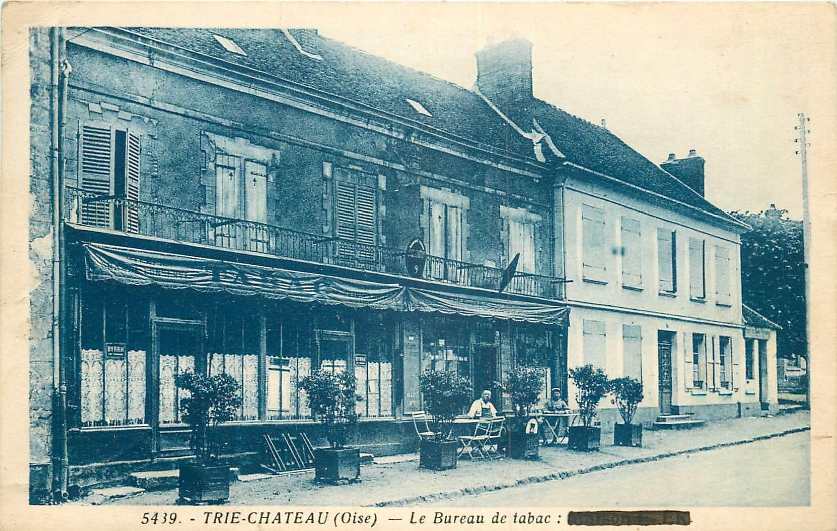 60 TRIE-CHATEAU.Le Café Bureau de Tabac