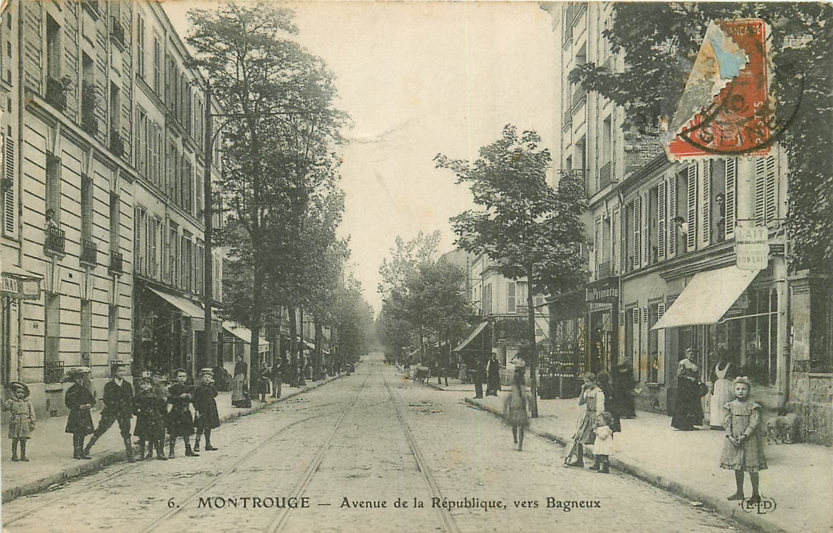 WW 92 MONTROUGE. Avenue de la République 1910