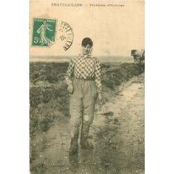 17 CHATELAILLON. Pêcheuse d'Huîtres 1912 Métiers de la Mer