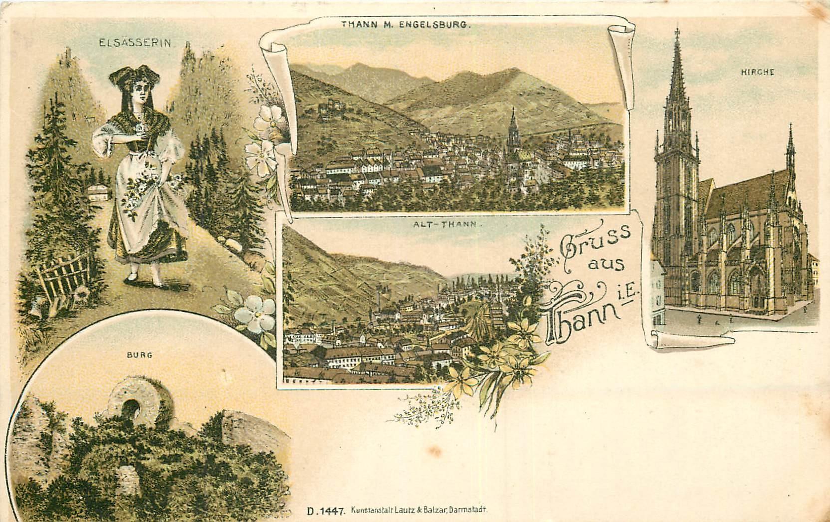 WW 68 Gruss aus Thann vers 1900