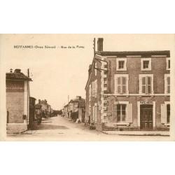 WW 79 REFFANNES. Café Hôtel rue de la Poste 1934