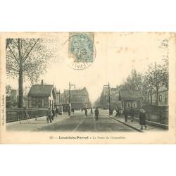WW 92 LEVALLOIS-PERRET. La Porte de Courcelles 1905