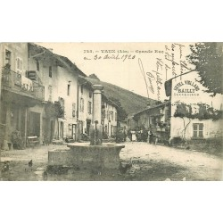 WW 01 VAUX. Hôtel Violland Bailly sur Grande Rue 1920