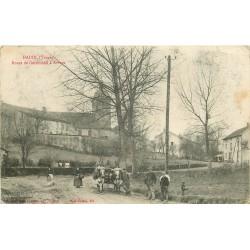 WW 88 HADOL. Attelage Boeufs route e Géroménil à Arches 1916