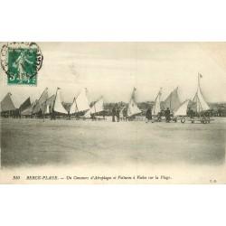 WW 62 BERCK-PLAGE. Concours d'Aéroplages et Voitures à Voiles 1912