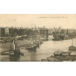 WW 33 LIBOURNE. Bateaux de chargement et transports sur la Dordogne et Terre de Fronsac 1933