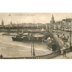 WW 17 LA ROCHELLE. Barques et Bateaux de Pêche au Quai Duperré 1930