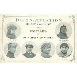 WW DIJON AVIATION. Portraits des principaux Aviateurs en 1910