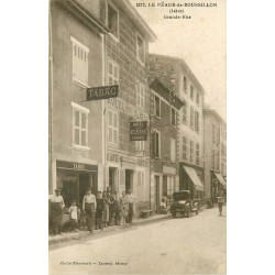 WW 38 LE PEAGE-DE-ROUSSILLON. Tabac Café Hôtel sur Grande Rue